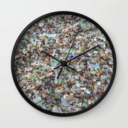glass beach #2 Wall Clock