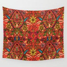 aziza fire Wall Tapestry