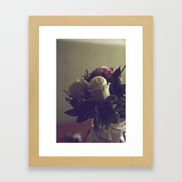 Wedding Flowers Framed Art Print