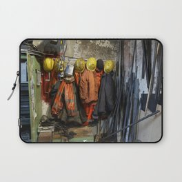 Working clothes, steam locomotives Laptop Sleeve