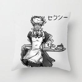 Maid Caim Throw Pillow