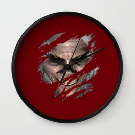 The Old Man Monsters  Wall Clock