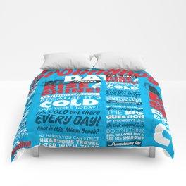 It's Groundhog Day Comforters