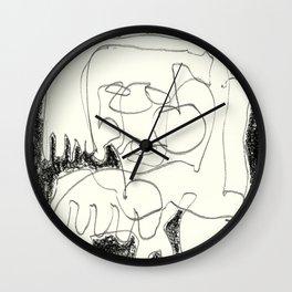 Static Noise Wall Clock