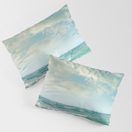 beach love tropical island paradise Pillow Sham