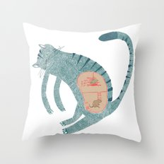 internal conspiracy Throw Pillow