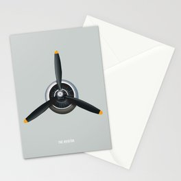 The Aviator - Alternative Movie Poster Stationery Cards