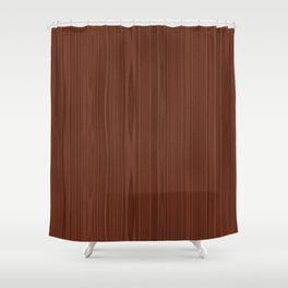 Walnut Wood Texture Shower Curtain