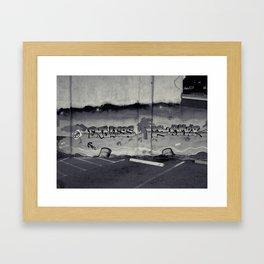 Endless Bummer Framed Art Print