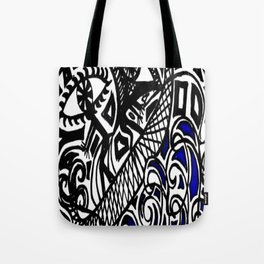 Fishermen on Sailboat Tote Bag