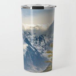Snowy Andes Mountains, El Chalten Argentina Travel Mug