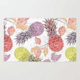 Juicy pineapple. Rug