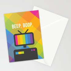 Beep. Boop. Stationery Cards