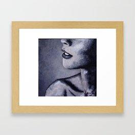 Profile Framed Art Print