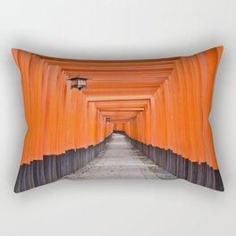 Torii Gates Rectangular Pillow