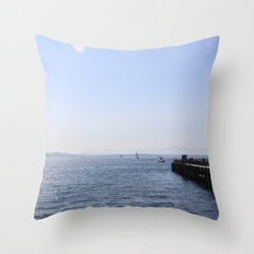 Seattle Waterfront Throw Pillow