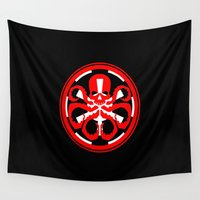 hydra Wall Tapestries featuring Hydra Empire by •tj•rae•