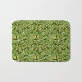 Lime Greenery Bath Mat