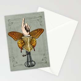 Butterhand Portrait Stationery Cards