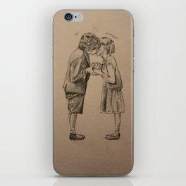 Love me if you dare iPhone Skin