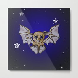 Bubba Bat Metal Print