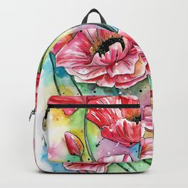 Iceland Poppies Backpack