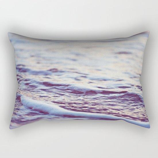 Morning Ocean Waves Rectangular Pillow