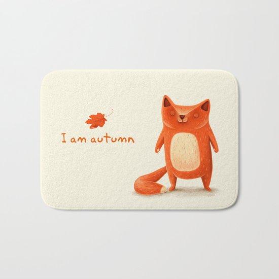 I am autumn (1) Bath Mat
