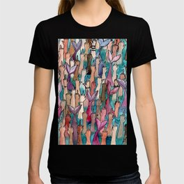 cool mermaids T-shirt
