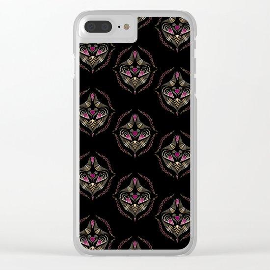 "Art deco print ""Jumil"" Clear iPhone Case"