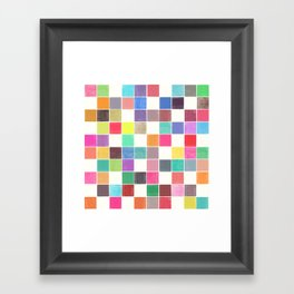 colorquilt 1 Framed Art Print