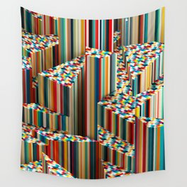 Stretched Pattern Wall Tapestry