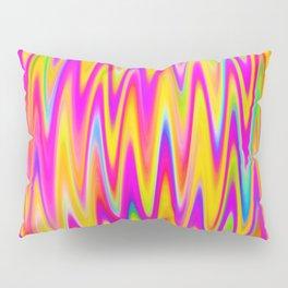 WAVY #1 (Multicolor Light) Pillow Sham