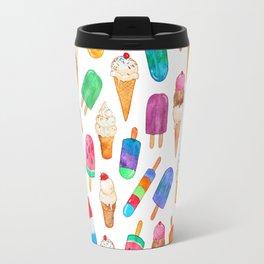 Summer Pops and Ice Cream Dreams Travel Mug