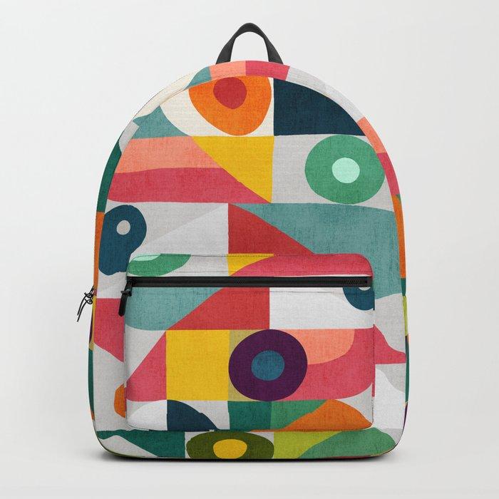 Tick Tock Machine Backpack