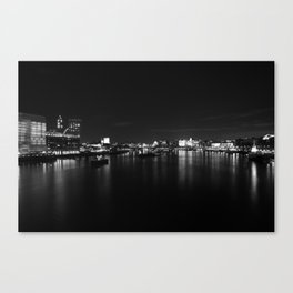 River Thames #3 Canvas Print