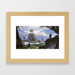 Olympus Framed Art Print