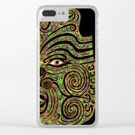 Tribes Clear iPhone Case