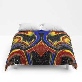 Chromatic Time Warp Voyage Comforters