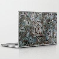 malachite Laptop & iPad Skins featuring Malachite by RubenBer