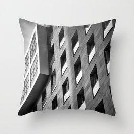 Modern spanish building. Throw Pillow