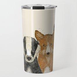 forest friends Travel Mug