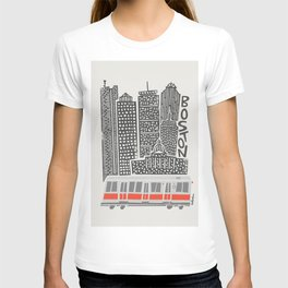 Boston City Illustration T-shirt