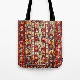 Milas Transylvanian Turkish 19th Century Antique Carpet Tote Bag