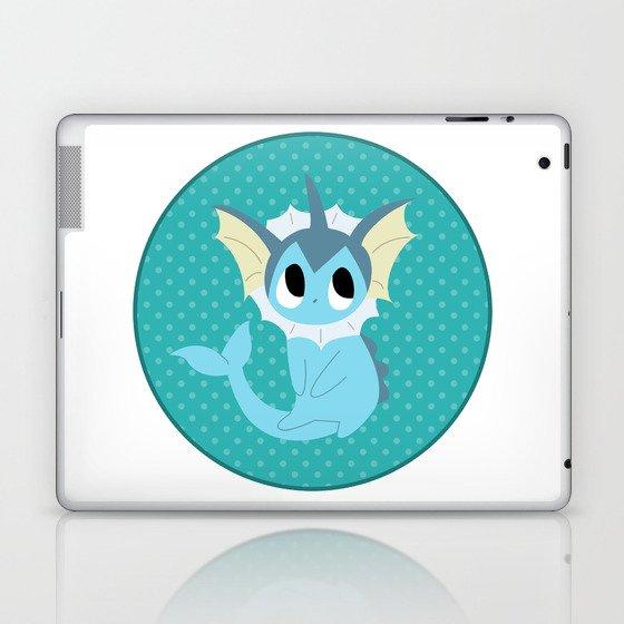 Vaporeon Laptop & iPad Skin