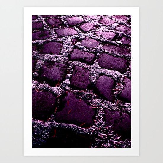 purple way XI Art Print