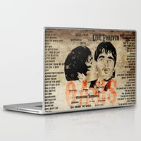oasis Laptop & iPad Skins featuring Oasis by Colo Design