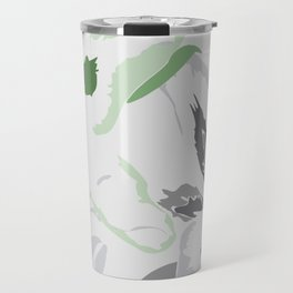 FLORAL ABSTRACTION 2 Travel Mug