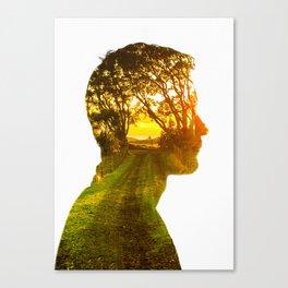Path Canvas Print