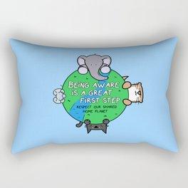 Home Planet Rectangular Pillow